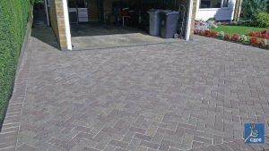 block paving after cleaning-by-care-commercial-cleaning